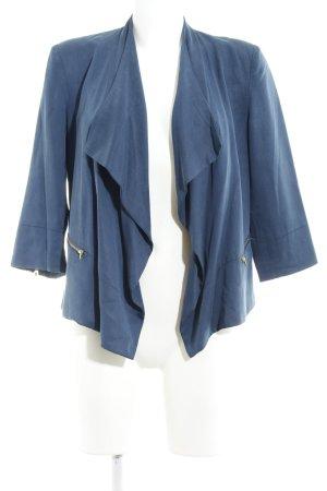 Selected Femme Kurz-Blazer graublau Urban-Look