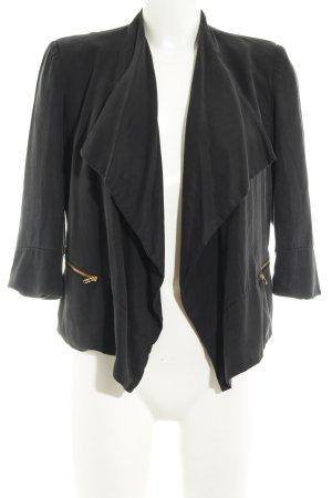 Selected Femme Kurz-Blazer schwarz Casual-Look