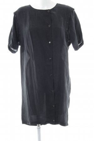 Selected Femme Kurzarmkleid schwarz Casual-Look