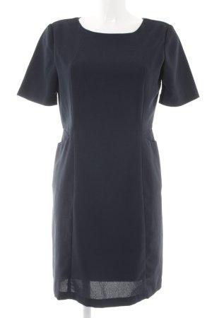 Selected Femme Kurzarmkleid dunkelblau Elegant