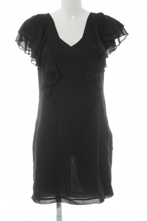 Selected Femme Kurzarmkleid schwarz Elegant