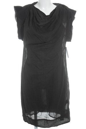 Selected Femme Kurzarmkleid schwarz schlichter Stil