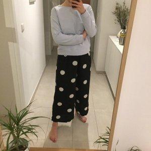 Selected Femme kuscheliger Sweater Crewneck Hellblau Pulli