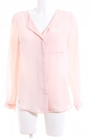 Selected Femme Langarm-Bluse pink Business-Look