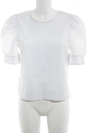Selected Femme Langarm-Bluse weiß Elegant