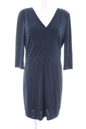 Selected Femme Langarmkleid blau Business-Look