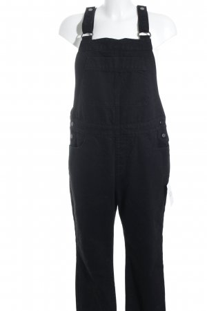 Selected Femme Dungarees black-silver-colored '90s style