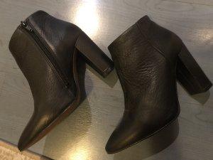Selected Femme Leder Booties