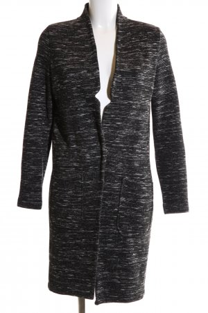 Selected Femme Long-Blazer schwarz-weiß meliert Casual-Look