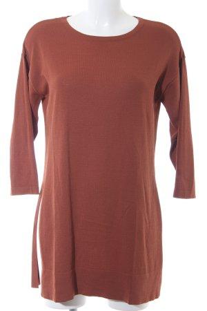Selected Femme Longpullover cognac Casual-Look