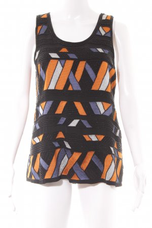 Selected Femme Lange top abstract patroon feest stijl