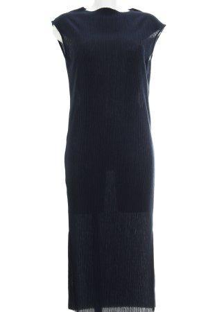Selected Femme Maxikleid dunkelblau schlichter Stil