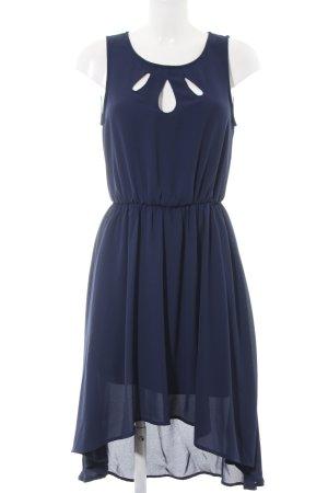 Selected Femme Midikleid blau Elegant