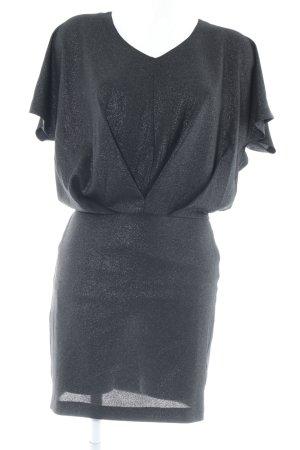 Selected Femme Minikleid schwarz-silberfarben Elegant