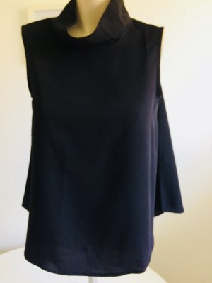 Selected Femme Blusa de cuello alto negro
