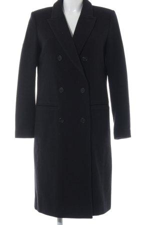 Selected Femme Oversized Mantel schwarz Elegant