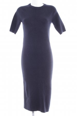 Selected Femme Sweaterjurk donkerblauw simpele stijl
