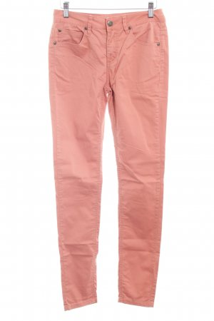 Selected Femme Röhrenhose apricot Casual-Look
