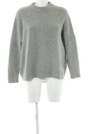 Selected Femme Rollkragenpullover grau minimalistischer Stil