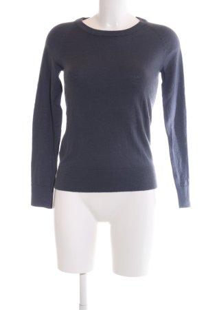 Selected Femme Rundhalspullover blau Casual-Look