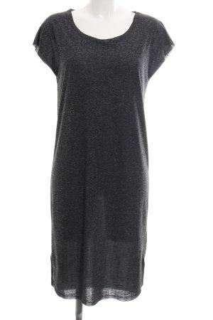 Selected Femme Shirtkleid hellgrau meliert Casual-Look