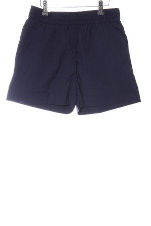 Selected Femme Shorts blau Business-Look