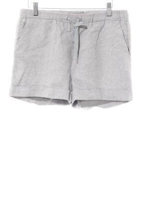 Selected Femme Shorts silberfarben Glitzer-Optik