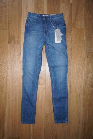 Selected Femme Skinny High Waist Röhrenjeans blau 29 NEU