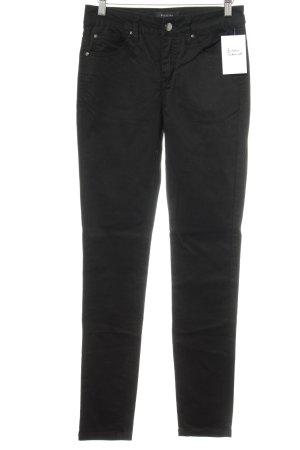 Selected Femme Skinny Jeans schwarz-silberfarben Casual-Look