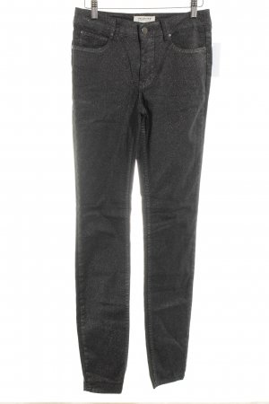 Selected Femme Skinny Jeans black-silver-colored casual look