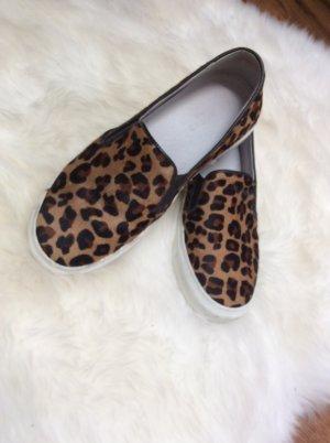 Selected femme Slipper Leopardenmuster Sneaker