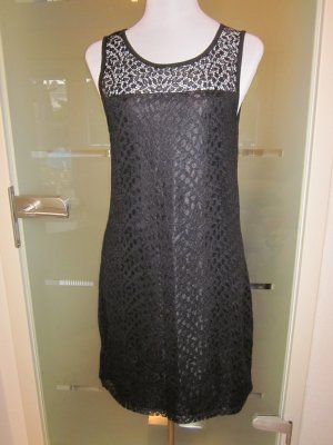 Selected Femme Spitzen Kleid schwarz Neu Gr 42