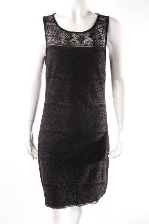Selected Femme Spitzenkleid schwarz