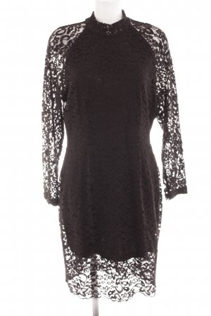 Selected Femme Lace Dress black elegant