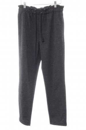 Selected Femme Stoffhose anthrazit meliert Casual-Look