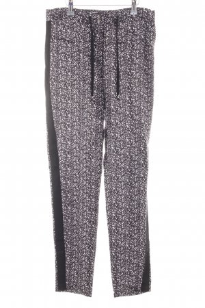 Selected Femme Stoffhose Allover-Druck Casual-Look