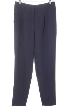 Selected Femme Stoffhose dunkelblau minimalistischer Stil