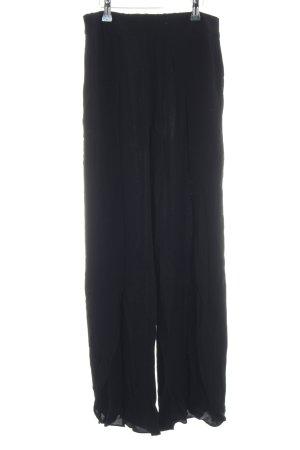 Selected Femme Stoffhose schwarz schlichter Stil