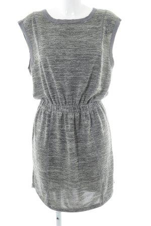 Selected Femme Stretchkleid hellbeige-grau meliert Casual-Look