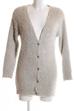 Selected Femme Strick Cardigan wollweiß Casual-Look