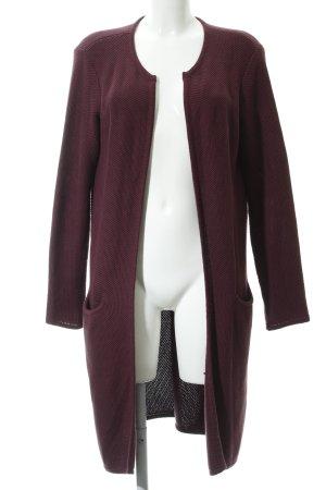 Selected Femme Strickmantel purpur Casual-Look