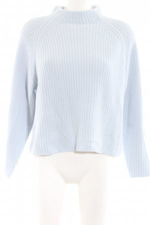 Selected Femme Strickpullover blau Casual-Look