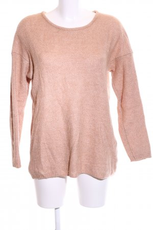 Selected Femme Strickpullover nude meliert Casual-Look
