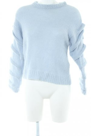 Selected Femme Strickpullover himmelblau Casual-Look