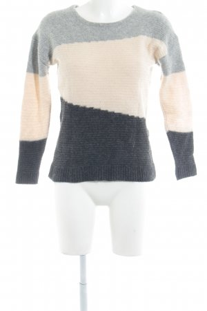 Selected Femme Strickpullover Streifenmuster Casual-Look