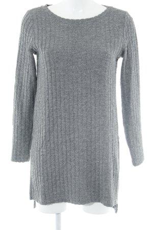 Selected Femme Sweatshirt grau meliert Casual-Look