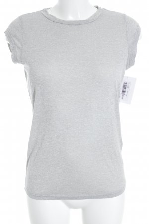 Selected Femme T-Shirt hellgrau Casual-Look