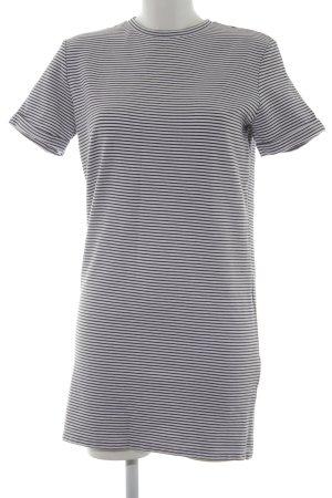 Selected Femme T-Shirt weiß-dunkelblau Streifenmuster Casual-Look