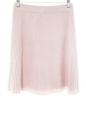 Selected Femme Falda circular rosa empolvado estampado a rayas look casual
