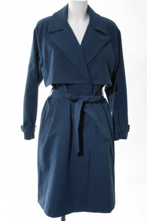 Selected Femme Trench Coat blue casual look